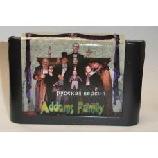 """Картридж """"Addams Family"""" 16 бит (для приставок """"Сега"""")"""