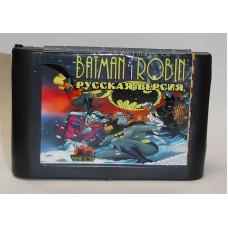 """Картридж """"Batman & Robin"""" 16 бит (для приставок """"Сега"""")"""