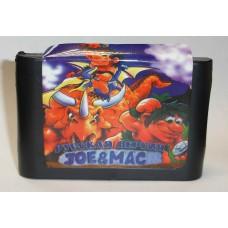 """Картридж Sega """"Joe & Mac"""""""