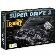 Sega SUPER DRIVE 2 + 130 встроенных игр
