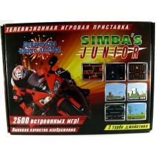Приставка 8-бит Simba's Junior 2500 встроенных игр