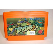 "Картридж Dendy ""Turtles 3"""