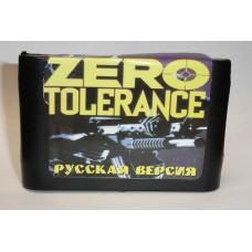 """Картридж Sega """"Zero Tolerance"""""""